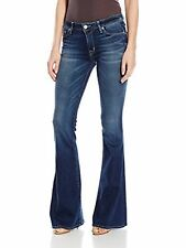 Hudson Woman's Mia Five Pocket Flare Jeans Color Denim Sz 32