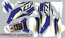 2006-2009 Yamaha YZ250f YZ450f Graphics Decal fender shrouds sticker