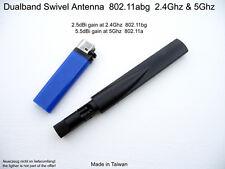 Dualband Antenne 802.11A/B/G/N/AC 2.5dbi/2.4ghz 5.5dbi/5ghz Wifi Wlan Omni