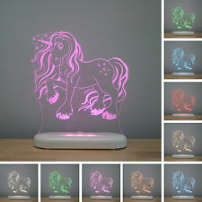 MAGIC UNICORN remote control, colour changing kids & babies LED night light