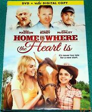 LAURA BELL BUNDY, BAILEE MADISON, Home Is Where the Heart Is, DVD, NEW