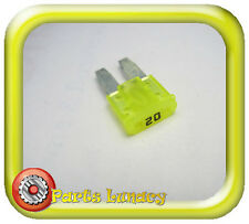 FUSE Micro2 Style 9mm 20 Amp Yellow FOR FORD RANGER PX Mk2 2015-On