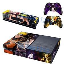 Naruto Boruto Vinyl Skin Decals Stickers Xbox One Console Kinect Controlle Anime