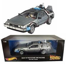 Back to the Future Part 2 Delorean Car with Mr. Fusion Hot Wheels 1:18 Diecast