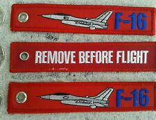 F-16 Falcon Kampfjet  REMOVE BEFORE FLIGHT 3er SET  /Avion / Aircraft / YakAir