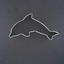 "DOLPHIN 4.5 "" METAL COOKIE CUTTER NAUTICAL BIRTHDAY PARTY FAVORS SUMMER THEME"