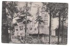 1908 Peking China Real Picture Postcard Cover to Czechoslovakia Lama Temple