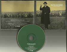 Mike Patton FAITH NO MORE Last Cup Of Sorrow 1997 USA PROMO DJ CD Single MINT