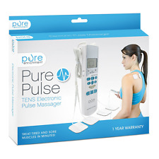 TENS Electrotherapy Pain Relief Pulse Unit Muscle Stimulation Electro Therapy