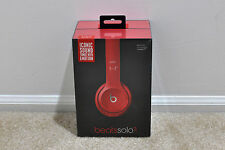 New in Box Beats by Dr. Dre Solo2 Headband Headphones - Gloss Red Model B0518