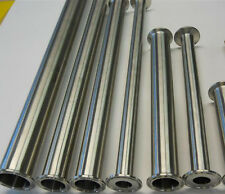 "4"" x 12"" Long Sanitary Spool Tri Clamp Tri Clover Stainless Steel Pipe Tubing"