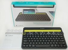 NEW Logitech K480 Multi-Device Bluetooth Keyboard BLACK Phone Tablet Computer