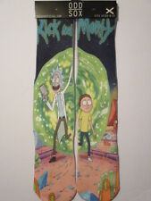 odd sox rick and morty socks BUY 3 GET 1 PAIR FREE pop culture adult sizes 6-13