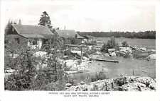 A5  CANADA Ontario Postcard RPPC '53 SOUTH BAY MOUTH Wah Wah Cottage Ritchies