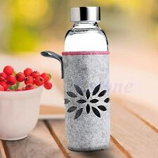 400ml Water Bottle Sport Insulated Cover Case Carrier Bag Pouch NEW