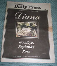 PRINCESS DIANA TRIBUTE WESTERN DAILY PRESS  SPECIAL EDITION1997