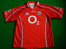 CORK GAA GAELIC FOOTBALL HURLING SHIRT PLAYER NUMBER 8 ,MENS LARGE