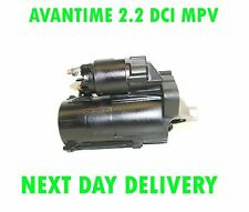 RENAULT AVANTIME 2.2 DCI MPV 2002 2003 NEW RECONDITIONED STARTER MOTOR