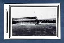 COMISKEY PARK, 1919 site of White Sox v Reds World Series WAY BACK WHEN postcard