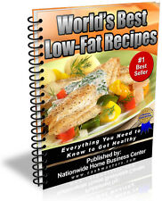 WORLD'S BEST LOW-FAT RECIPES PDF EBOOK FREE SHIPPING RESALE RIGHTS