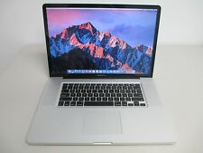 "Apple MacBook Pro 17"" Mid 2010 (4GB, 500GB, 2.66Ghz Intel Core i7, OS Sierra)"
