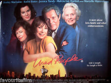 Cinema Poster: USED PEOPLE 1993 (Quad) Shirley MacLaine Marcello Mastroianni