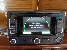NAVEGADOR RNS 315 + BLUETOOTH MAPAS V4 VW GOLF V 5 6  TOURAN SHARAN POLO TIGUAN