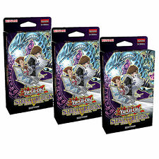 3X Yu-Gi-Oh Cards Seto Kaiba Sealed Structure Decks -SDKS ABC Dragon Buster 2016