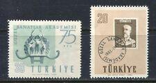 30895) TURKEY 1957 MNH** Academy of Art. 2v. Scott# 1246/48