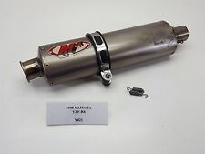 2005 Yamaha YZF-R6 YZFR6 M4 Muffler Exhaust Pipe SLIP ON 03-05 Y021