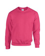 Mens Gildan Heavy Blend Crew Neck Jumper- Adult Sweatshirt Top S M L XL 2XL