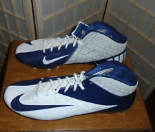NEW Mens Size 16 NIKE Vapor Pro Blue White Spikes Cleats Shoes