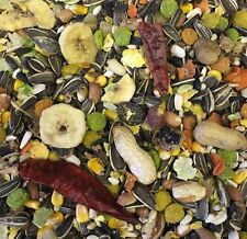 Parrot Food 2KG Paradise Fruit Nut Pineapple Mix cockatiel parakeet lovebird
