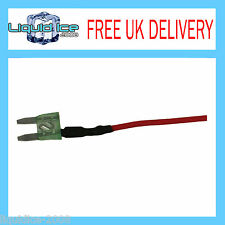 AUTOLEADS MFS30A 30 AMP MINI SPUR BLADE FUSE LEAD CABLE FOR CAR VAN BUS VEHICLE