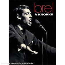9748 // JACQUES BREL A KNOKKE 1963 EDITION LIMITEE DVD NEUF SOUS BLISTER