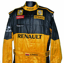 VITALY PETROV RARE RENAULT F1 CREW SUIT WITH VITALY'S NAME ON BELT