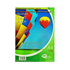 20 Hojas Neo Glossy Photo Paper 135gsm De Tinta En Papel Fotográfico 210 X 297mm