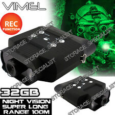 Binocular Night Vision Monocular Digital Camera Goggles Hunting  NV Security 32G