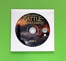 Lord of the Rings Battle for Middle-Earth for PC Replacement Disc 2 Only