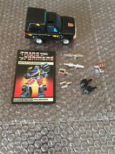 Trailbreaker 100% Loose Complete 1984 Vintage Hasbro G1 Transformers