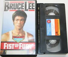 Fist Of Fury - VHS Video Film Bruce Lee 1973 0071 Rank 18+ PAL USED