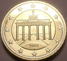 Cameo Proof Germany 2002-A 10 Euro Cents~Minted In Berlin~Cameo~Free Shipping~