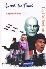Louis de Funes Collection 3.  Franch Optional English Subtitles. Louis De Funès