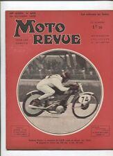 Moto Revue N°659  ; 26  octobre  1935 :  les freins moto / sidecars au salon