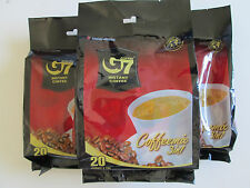 4 Bags,G7 TRUNG NGUYEN INSTNT COFFEE,MIX 3 IN 1(20 SACHETS X 16G/bag)USA Seller