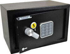 YALE ELECTRONIC SAFE 31cm Wide Batteries Included Time Lock Tamper Protection