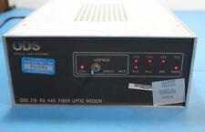ODS Fiber Optic Modem 219 RS-449 NSN#5895014077640