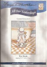 "Counted Cross Stitch All Our Yesterdays 7"" x 5"" Wee Break (073-15)"
