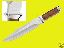 Magnum Giant Bowie Gürtelmesser Messer Fahrtenmesser mit Lederscheide 02MB565