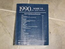 1990 Lincoln Mark VII 7 Shop Service Repair Manual Book Bill Blass LSC 5.0L V8